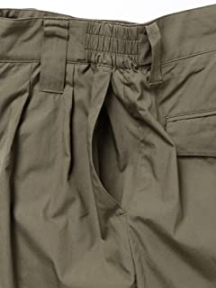 Broadcloth Pleated Shorts 11-25-0806-730: Olive Drab