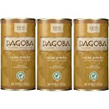 Dagoba Organic Chocolate Cacao Powder (Fair Trade Certified), 8-Ounce Canisters (Pack of 3)