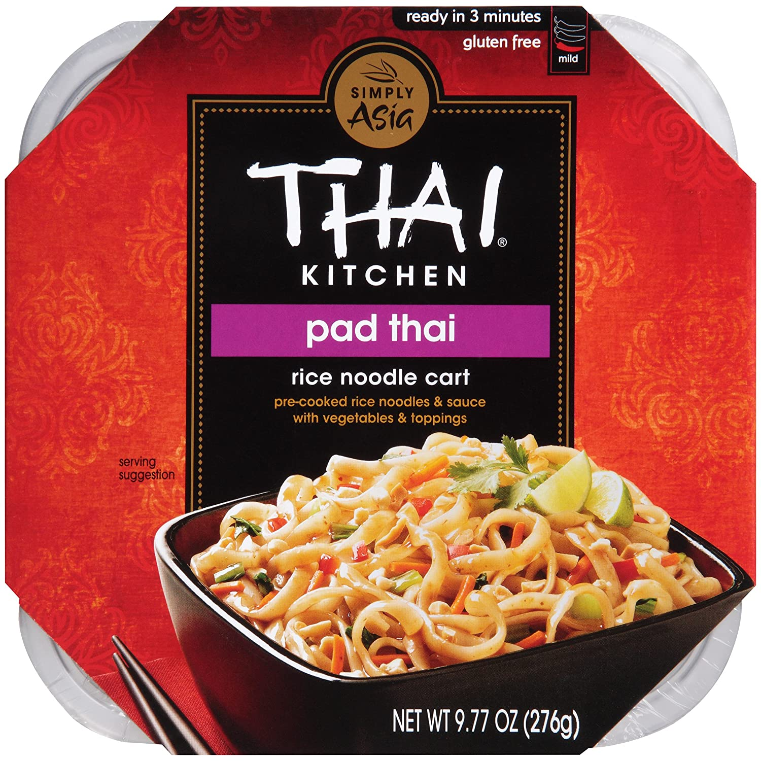 Thai Kitchen Pad Thai Rice Noodle Cart, 9.77 oz