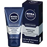 NIVEA Men Maximum Hydration Protective Lotion SPF 15, 2.5 Fluid Ounce (Pack of 4)