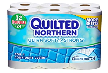 Quilted Northern Ultra Soft And Strong Bath Tissue 12 Double Rolls