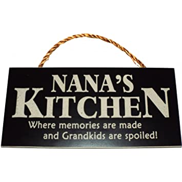 Amazon.com: Nana\'s Kitchen Where memories are made and Grandkids ...