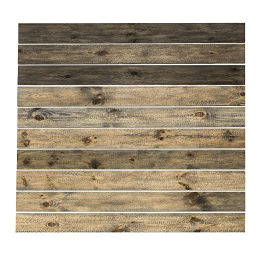 Amazon.com: Tablones de madera rústica (caja de 14 pies ...