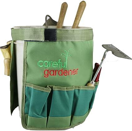Ordinaire Garden Tool Bag Organizer : Best Gardening Tool Belt Bucket For All Your  Gardening Needs By
