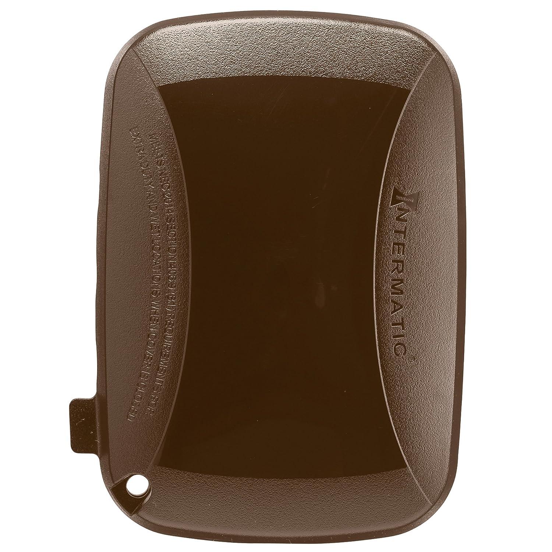 Intermatic Extra Dutyプラスチック防水カバー WP5110BR 1  ブロンズ B00R8K9O3E