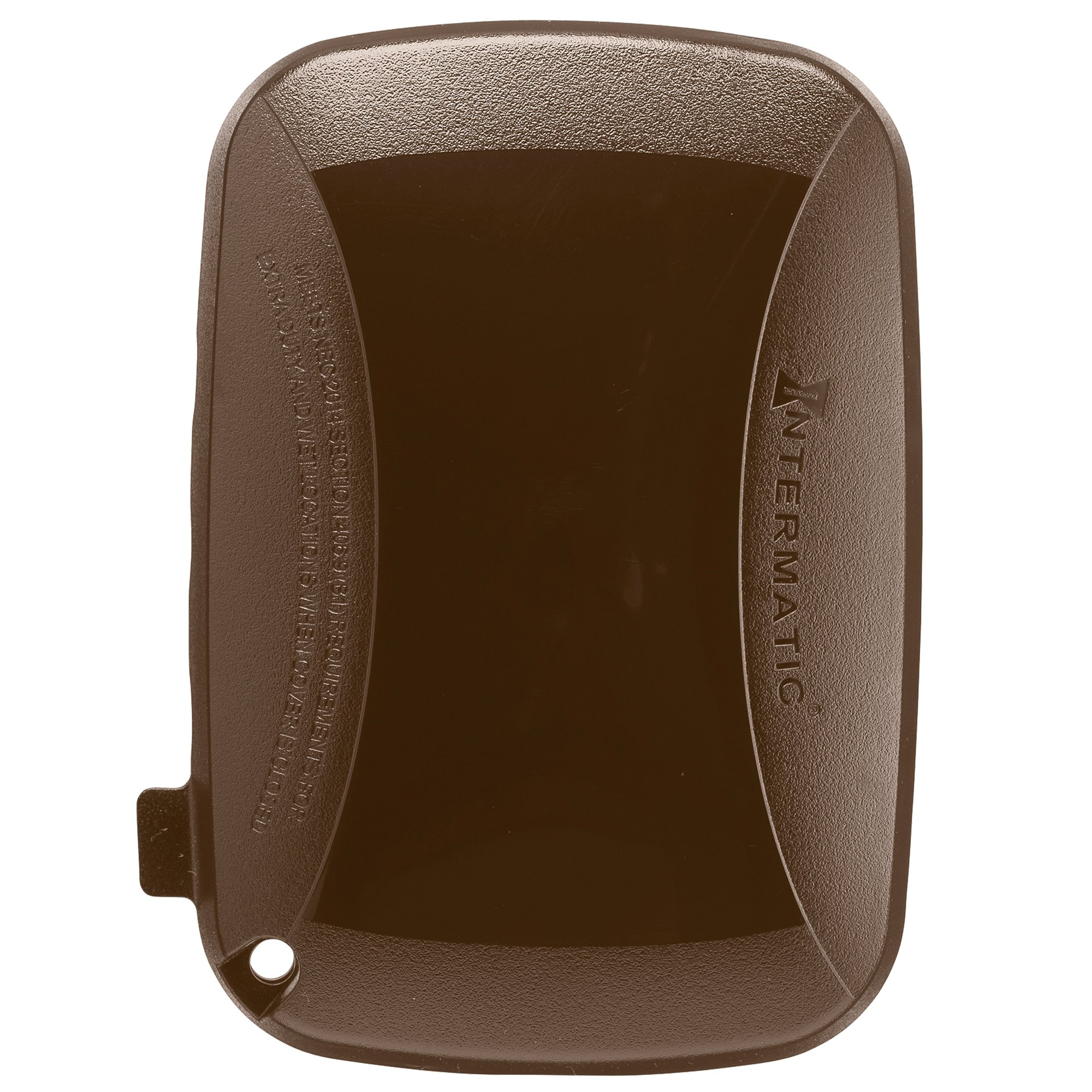 Intermatic WP5110BR Extra Duty Plastic Weatherproof Cover, 3.625-Inch Single Gang, Bronze