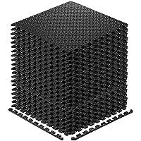 Exercise Mats Puzzle Foam Mats Gym Flooring Mat Cover 20 SQ.FT Interlocking Foam Mats with EVA Foam Floor Tiles for Home Gym Equipment Workouts