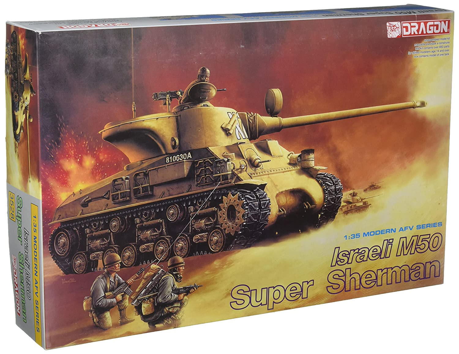 Dragon Models Israeli M50 Super Sherman Model Kit