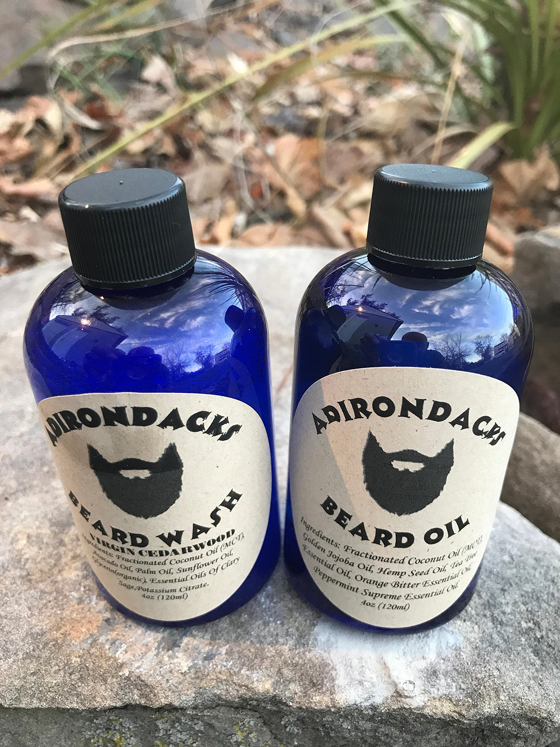 Adirondacks kit Beard oil + Beard Wash