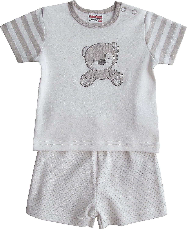 Schnizler Little Bear Mit T-Shirt Und Shorts Conjunto de Ropa para Beb/és