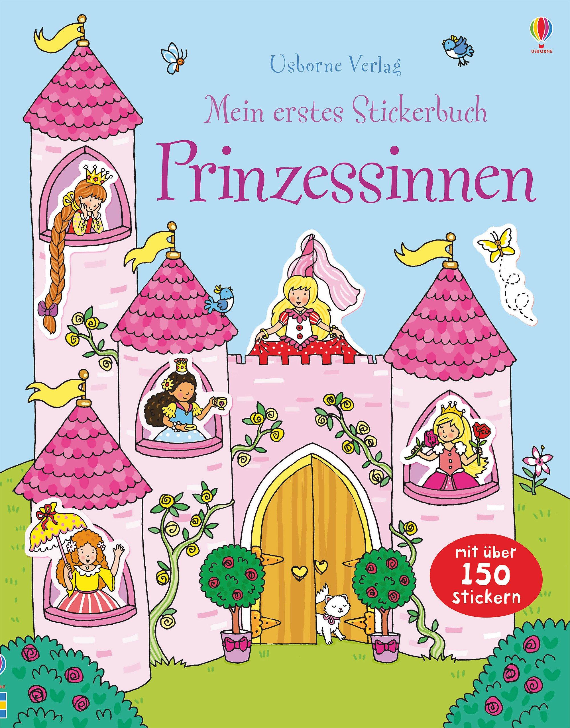 Mein erstes Stickerbuch: Prinzessinnen
