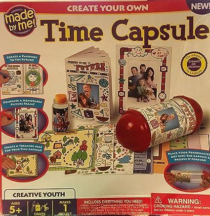 Amazon.com: Made by Me Crea tu propio Time Capsule: Toys & Games