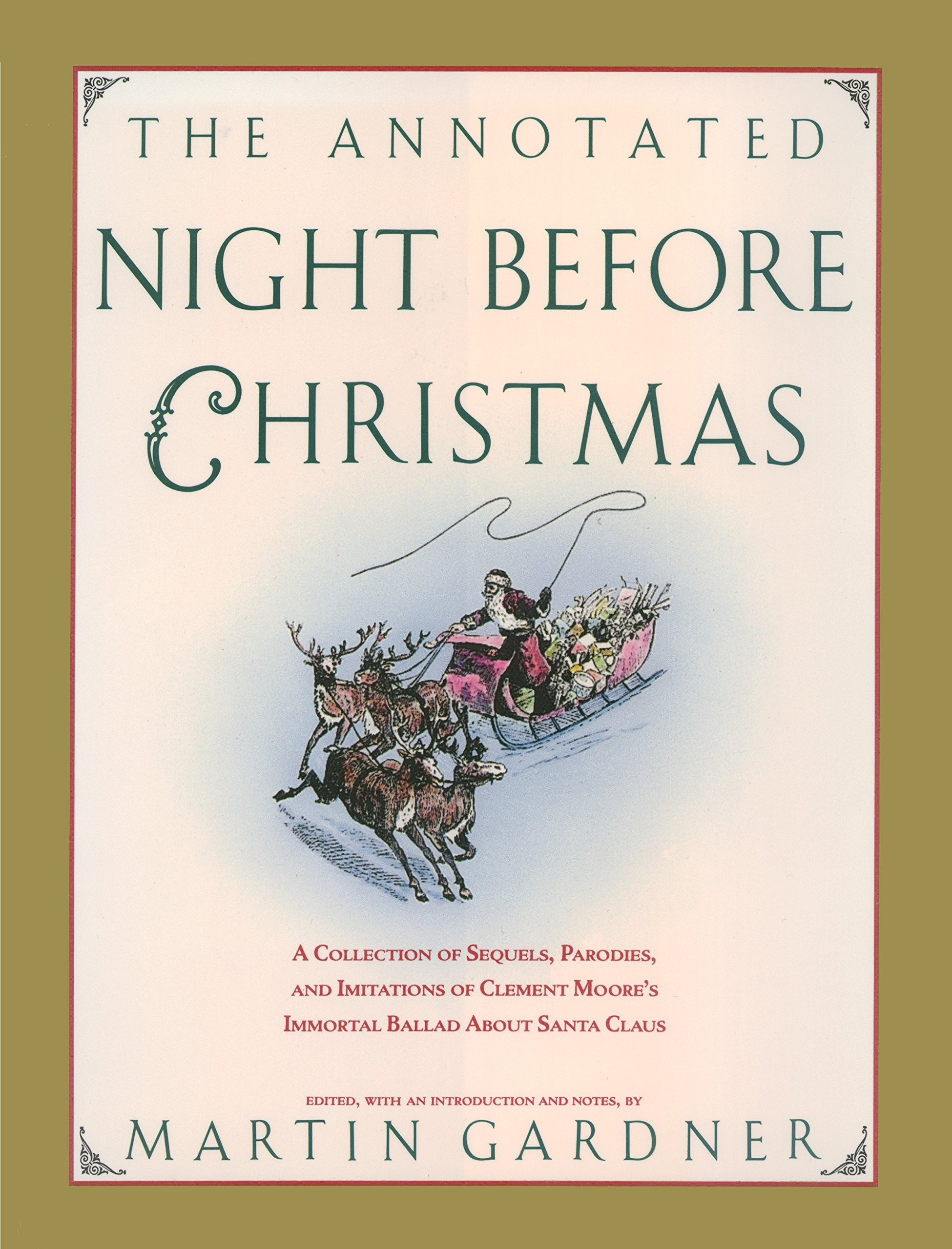 amazoncom the annotated night before christmas a collection of sequels parodies and imitations of clement moores immortal ballad about santa claus - Twas The Night Before Christmas Parody
