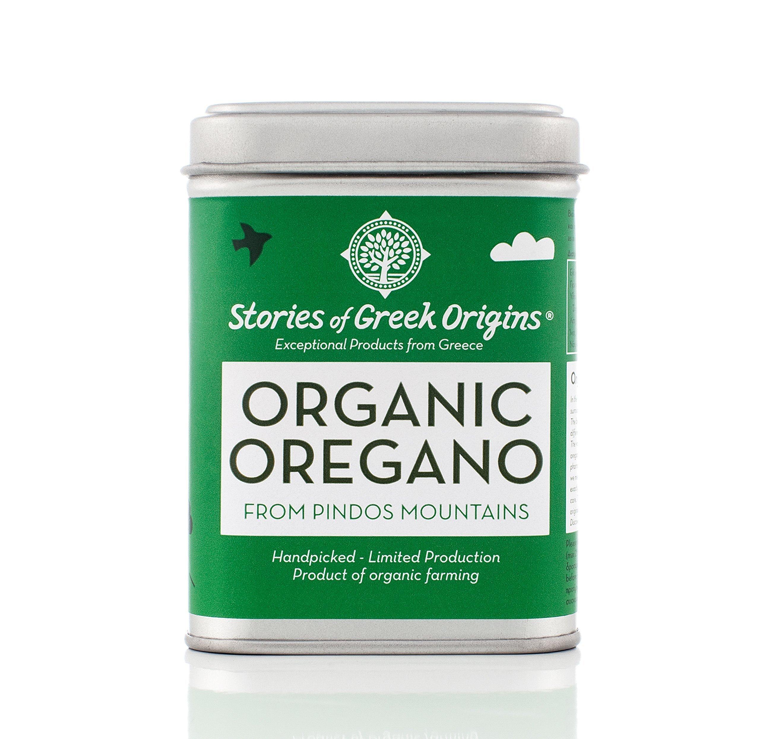 Stories Of Greek Origins Organic Oregano, 2.89 Ounce
