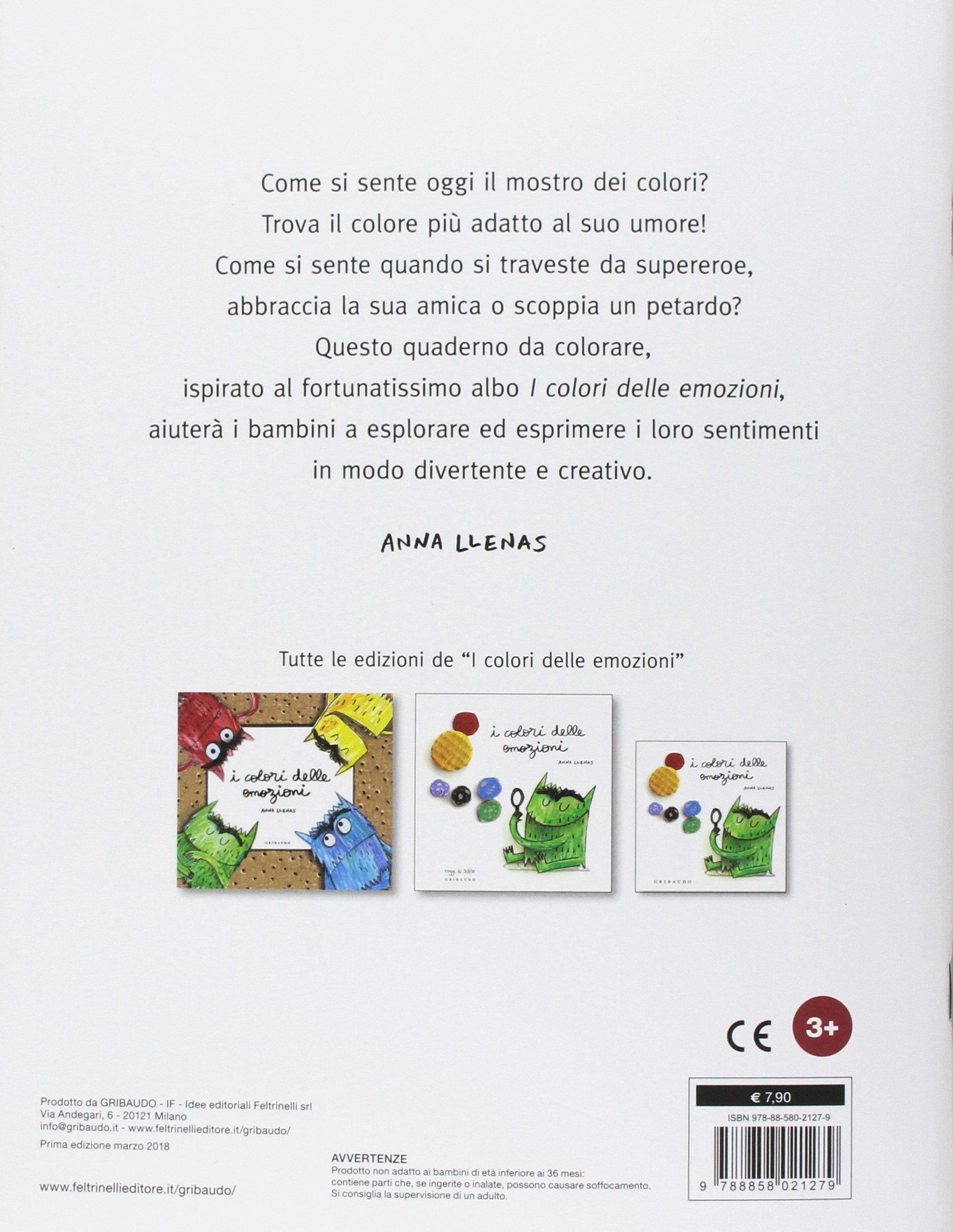 I Colori Delle Emozioni Album Da Colorare Ediz Illustrata Amazon