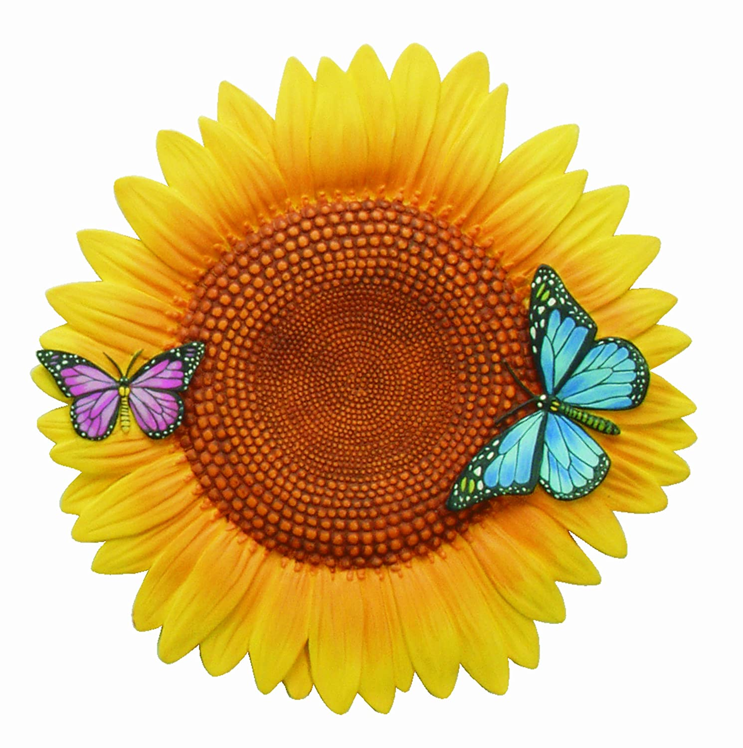 Spoontiques Sunflower Stepping Stone wall plaque outdoor design