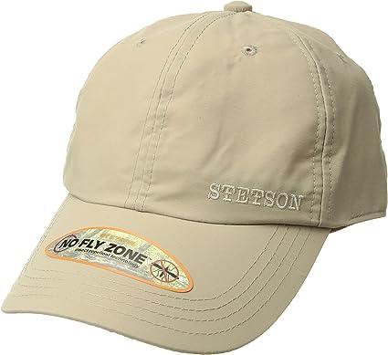 Stetson Men s No Fly Zone Baseball Cap Khaki One Size at Amazon ... 57c683a2704