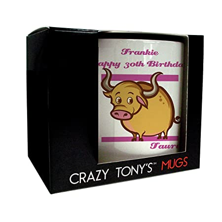 30th Birthday Gift Ideas For Daughters Sisters Mums Mug Crazy Tonys Personalised Presents Amazoncouk Kitchen Home