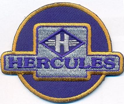 Hercules Vintage Motorcycle Biker Motorrad Aufnäher Patch Abzeichen Auto