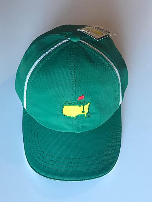 aefa9ea598e Image Unavailable. Image not available for. Color  Masters green golf hat  ...