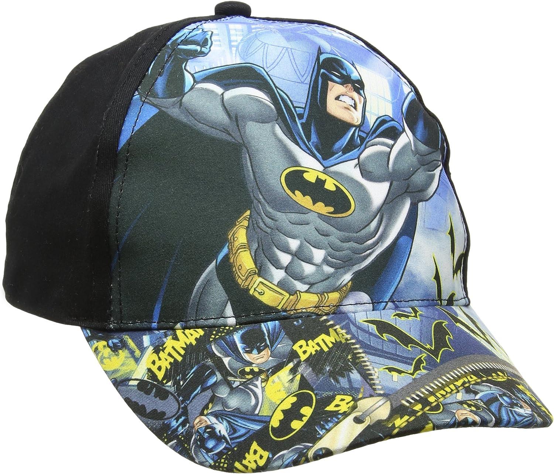 DC Comics Batman Gorra, Negro (Black), XXX-Large para Niños ...