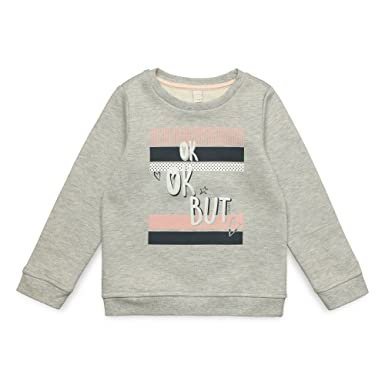 Esprit Kids Kids Sweat Shirt For Girl, Sudadera Niñas, Gris (Heather Grey 203