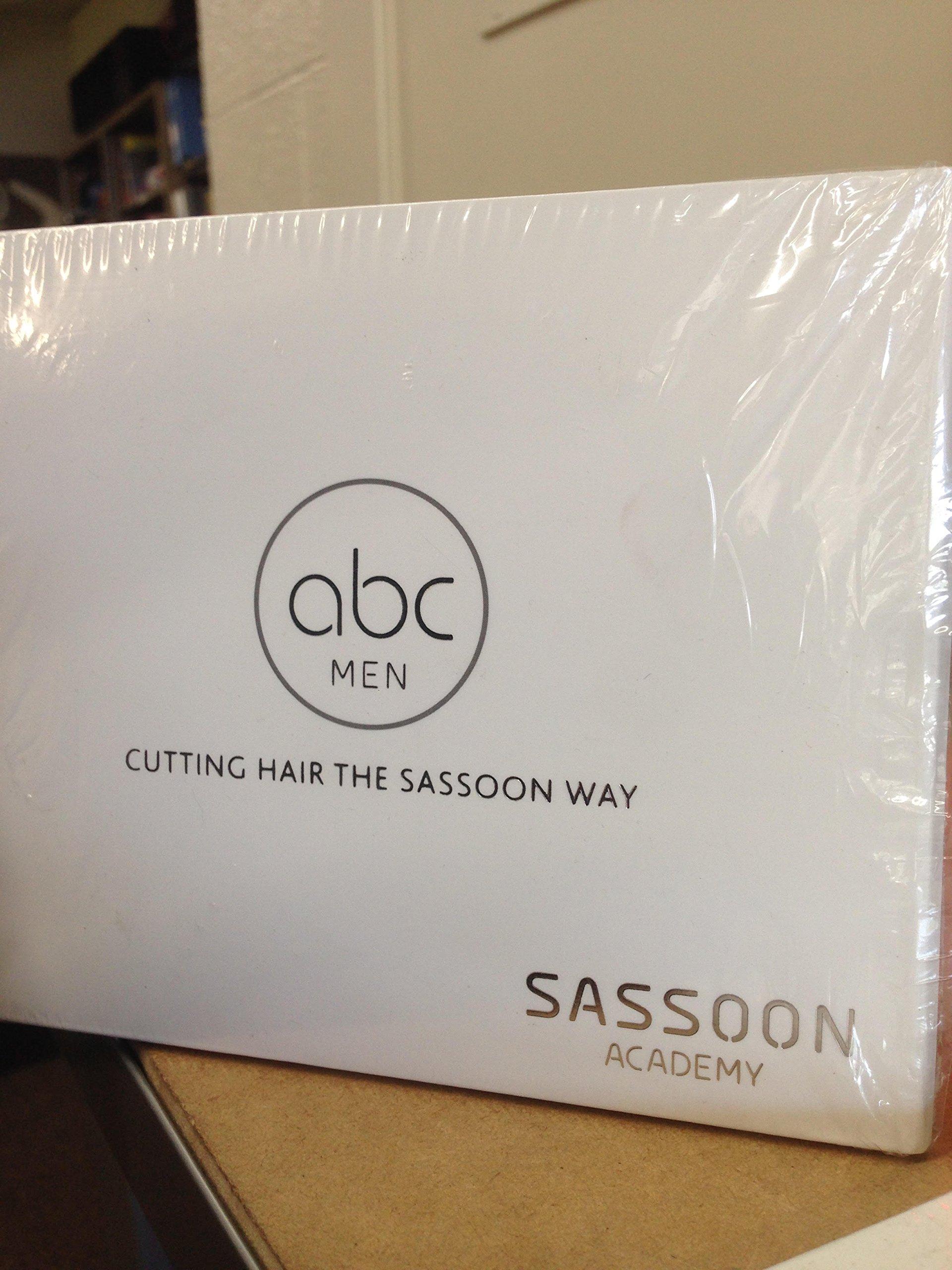 ABC Men Cutting Hair the Sassoon Way 12DVD Instruction set: Sassoon