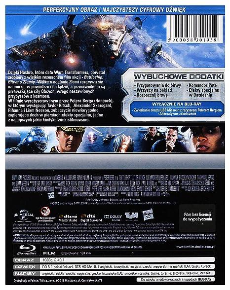 Battleship [Blu-Ray] [Region B] (Audio español): Amazon.es: Liam ...