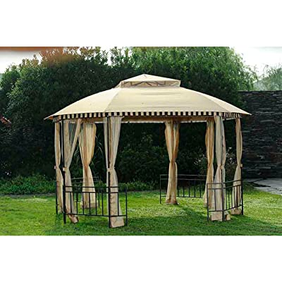 Sunjoy Replacement Canopy Set for 10x12ft POP UP Gazebo : Garden & Outdoor...