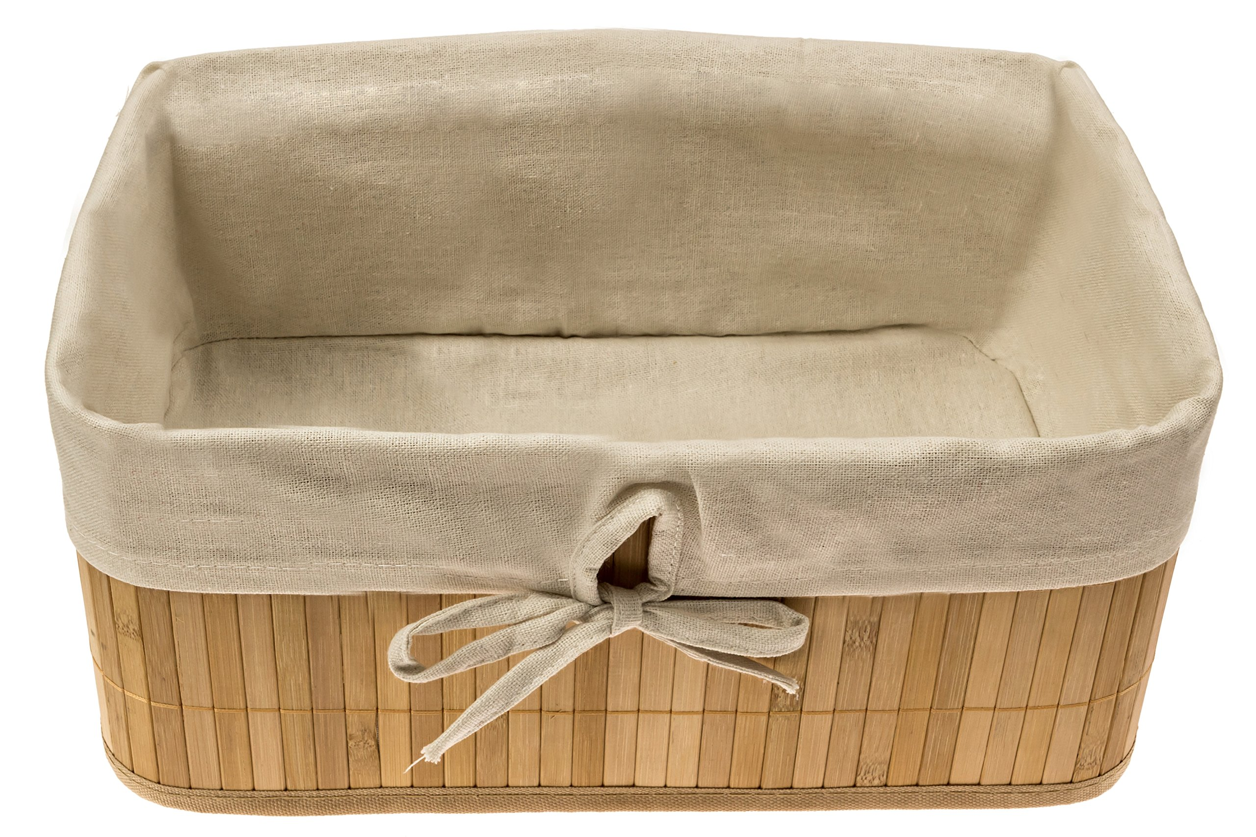 """Naked Bamboo"" Home Storage Basket 