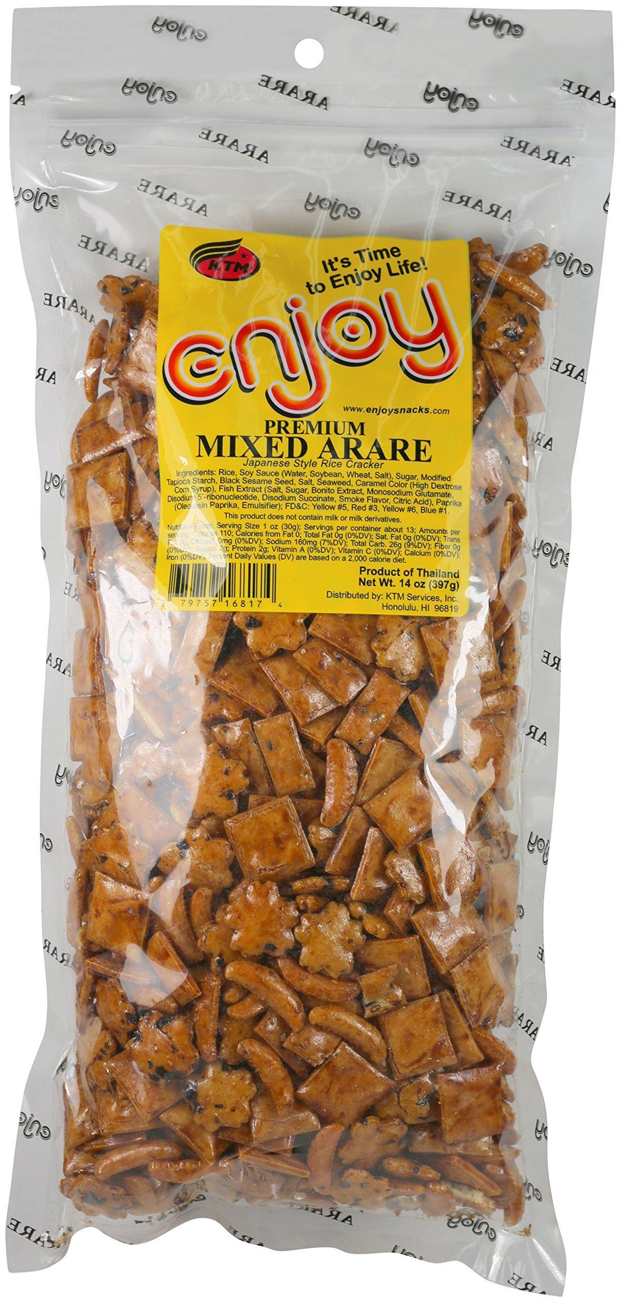 Enjoy Sakura Arare Rice Crackers, 8 Ounce: Amazon.com