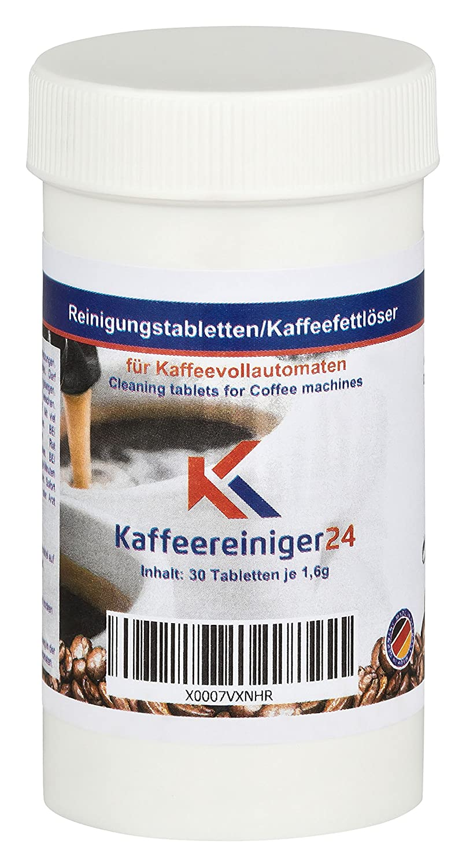 Kaffeereiniger24 | tabletas de limpieza eficaces para máquinas de café espresso y totalmente automáticas | La eliminación eficaz de los residuos | Sin sabor ...