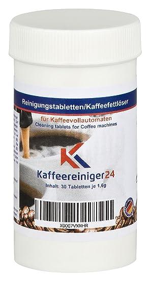 Kaffeereiniger24 | tabletas de limpieza eficaces para máquinas de café espresso y totalmente automáticas | La ...