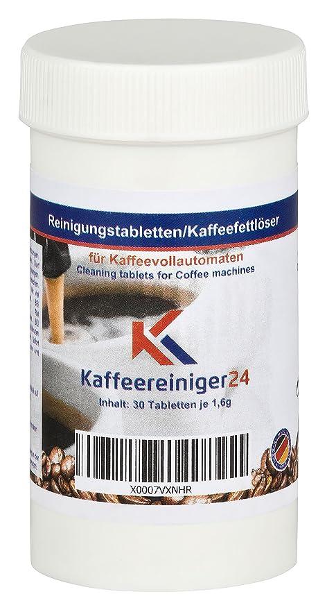 30 Reinigungstabletten für Kaffeevollautomaten und Espressomaschinen