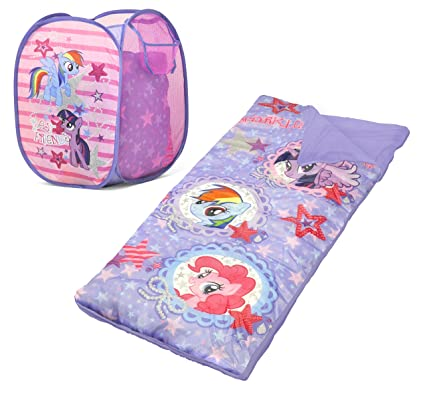 Amazon.com: My Little Pony Bolsa de dormir y Hamper Set ...