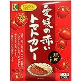 愛媛の赤いトマトカレー 豚肉入り レトルトパウチ 200g(1人前)