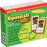 Edupress Spanish in a Flash Cards Set 1 (EP62342)
