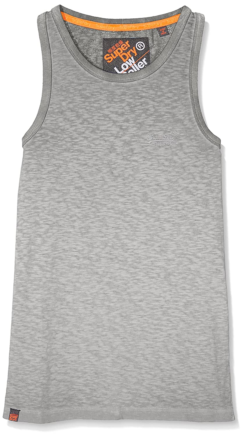 Superdry Boy's O L Low Roller Vest Top M60000GO