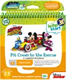 LeapFrog Level 1 LeapStart Book - Mickey and The Roadster Racers Pit Crews to The Rescue - 3D Enhanced Book