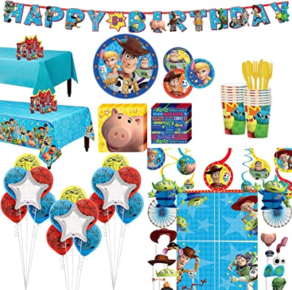 """12ct Disney Toy Story Birthday 12/"""" Latex Balloons Party Supplies"""