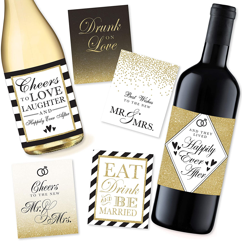 Personalized Photo Engagement gift Bridal Shower Gifts Custom Photo  Engagement Wedding Wine Label Wedding Gifts Engagement gifts