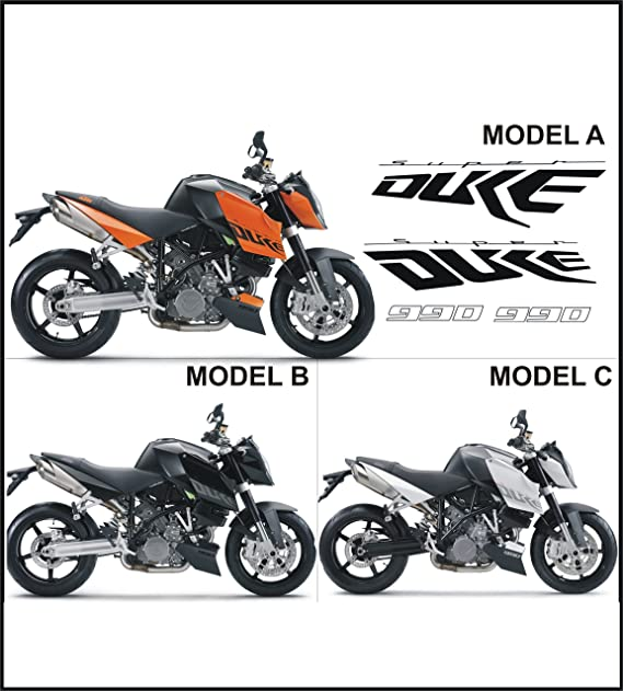 GRAPHICSMOTO Set Pegatinas Decal Stickers Compatible SUPERDUKE 990 ...