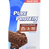 Pure Protein 2-Pack of 6 Nutritious Snacks to Support Energy Bars