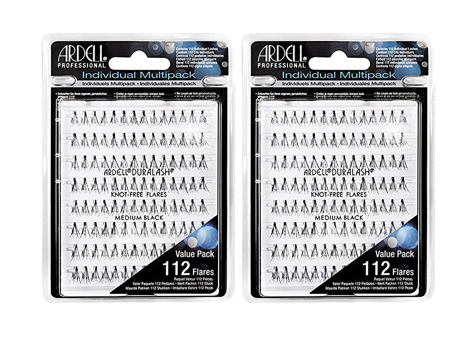 Ardell - Multipack Individual Lashes, Knot-Free (Medium) (2-Pack)