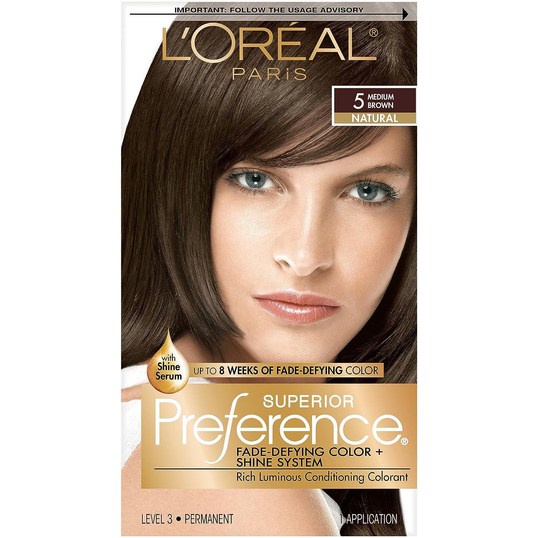 L'Oréal Paris Superior Preference Permanent Hair Color, 1.0 Ultimate Black L'Oreal Paris A07048