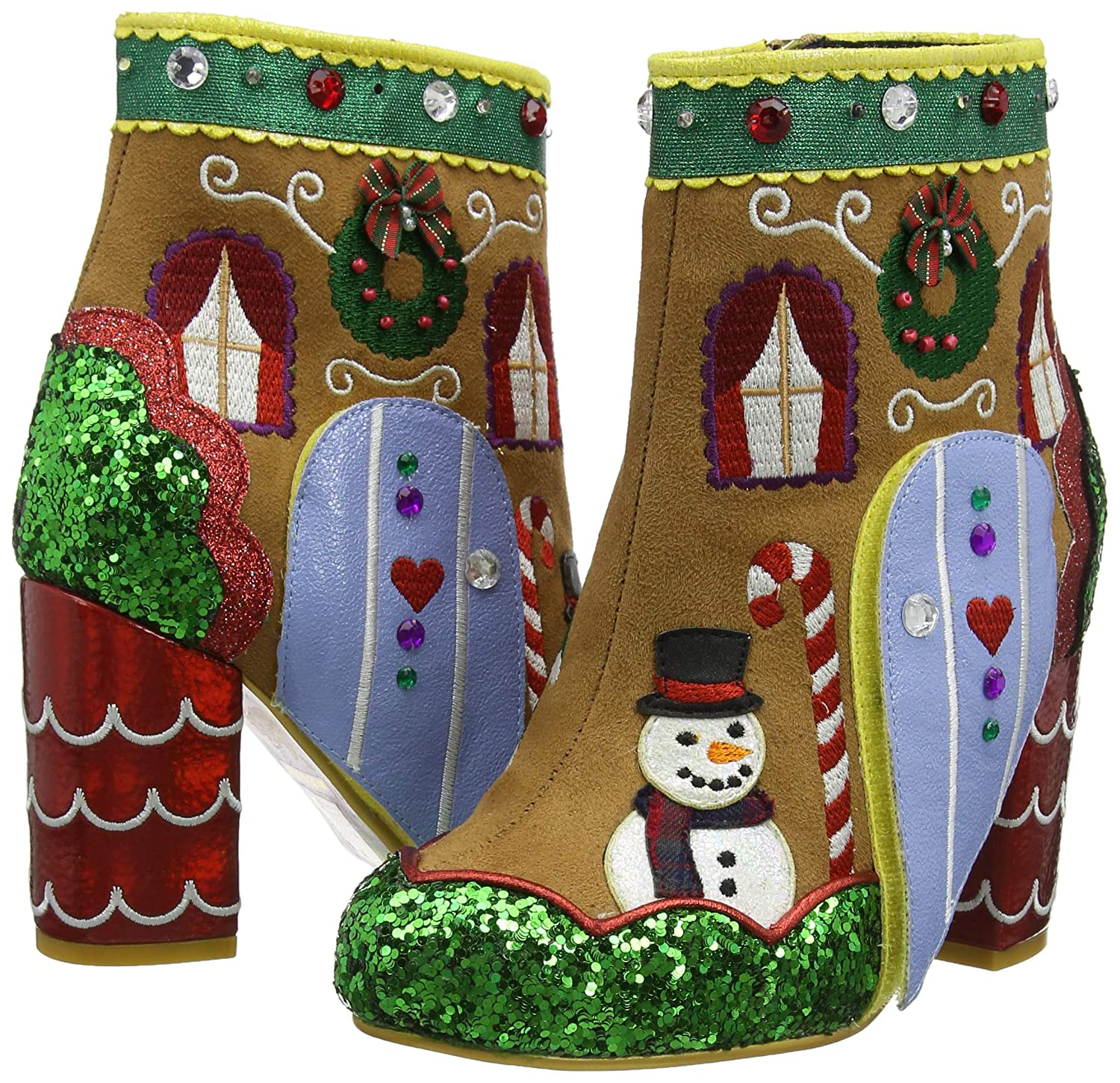 Irregular Choice Damen Damen Damen Ginger's House Kurzschaft Stiefel 2038a5