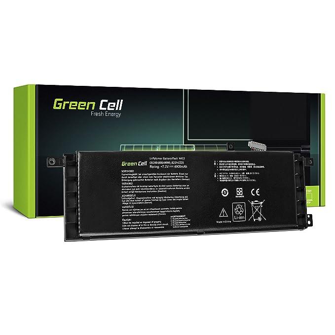 Green Cell® B21N1329 Batería para ASUS X553 X553M X553MA F553 ...