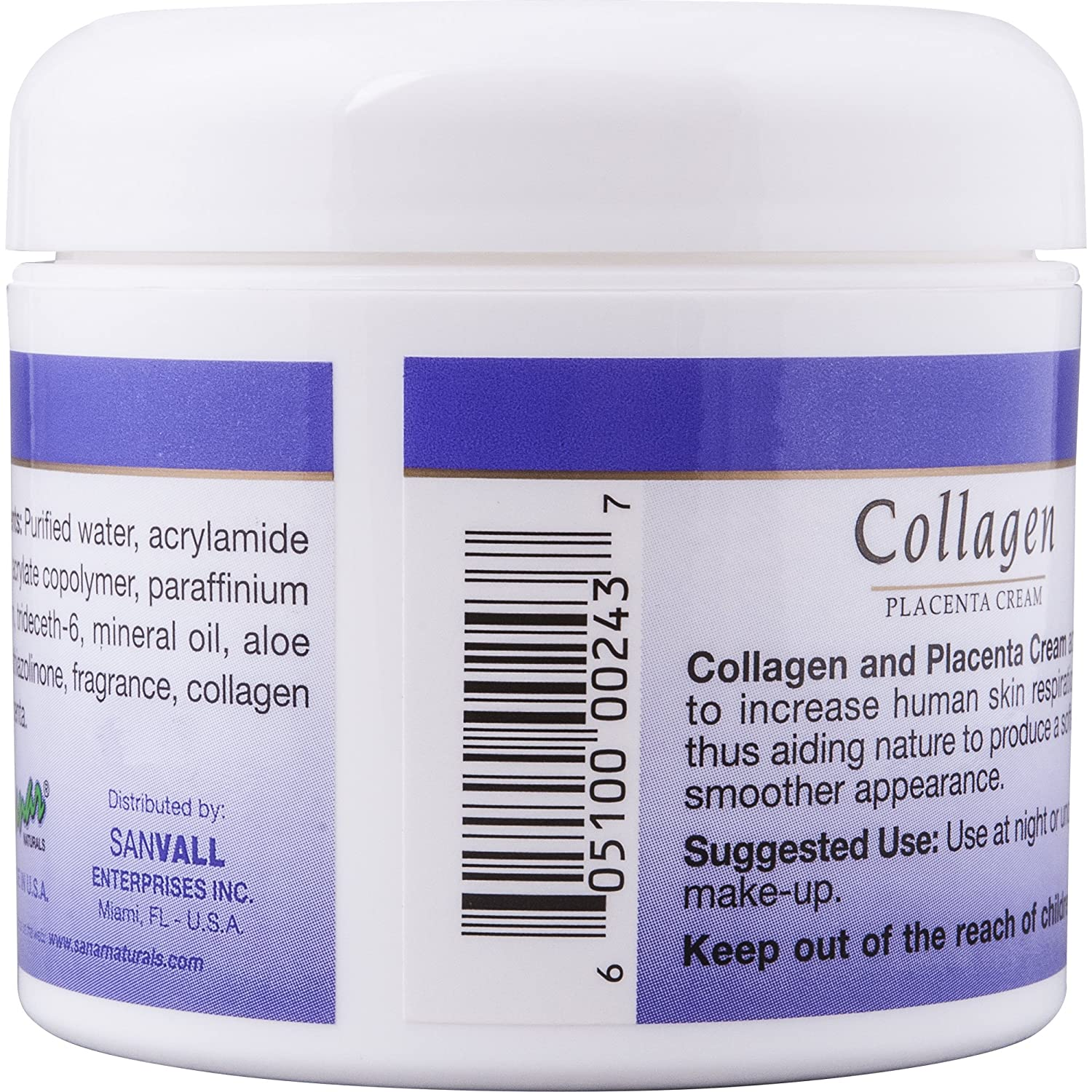 Amazon.com: Sanar Naturals Beauty Combo, Collagen Capsules 150 Count and Collagen Cream 4 Ounce - Capsulas y Crema de Colageno: Health & Personal Care