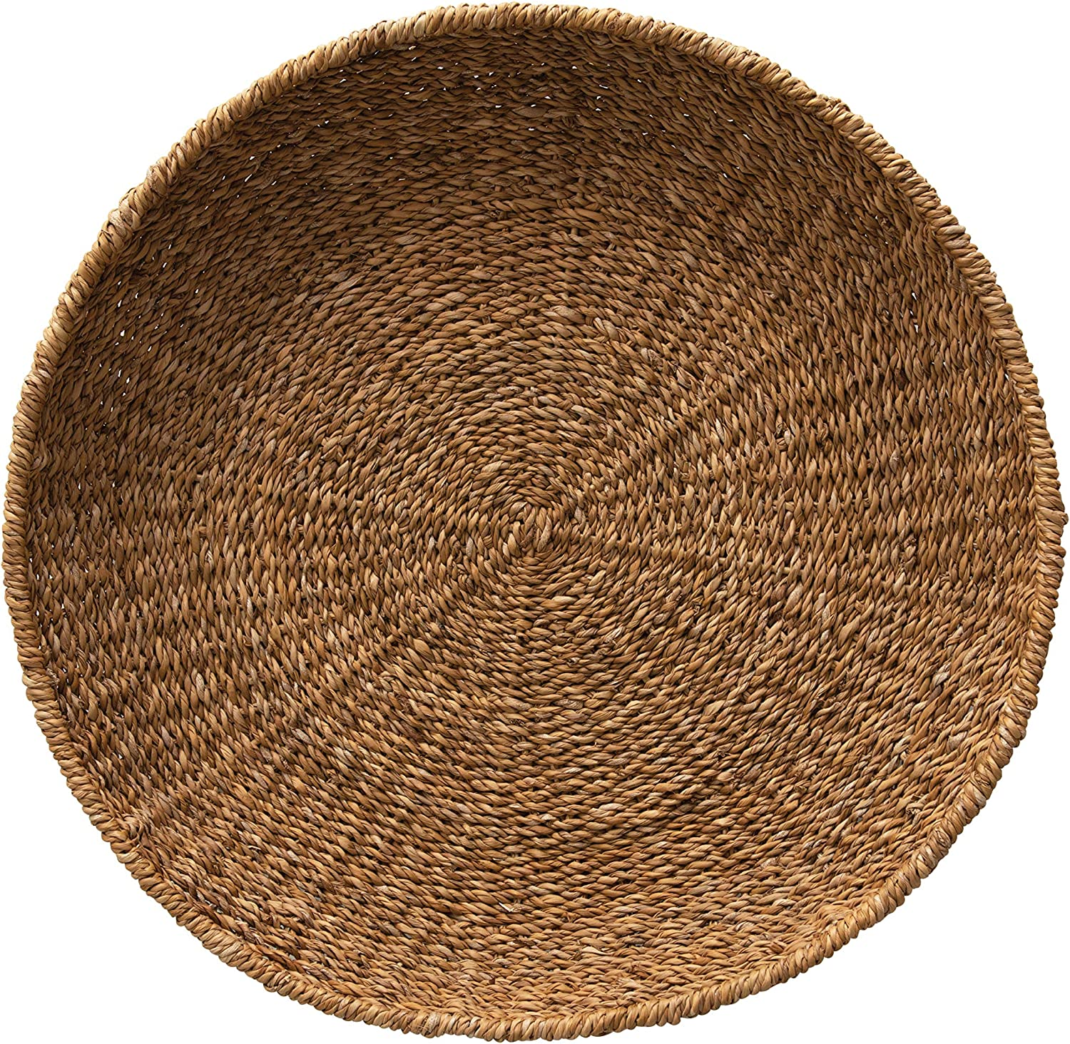 Creative Co-op Hand-Woven Decorative Seagrass Tray, Natural