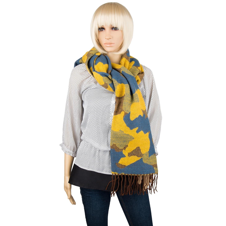 Aerusi Girls Camouflage Fashion Scarves